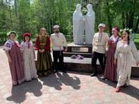 5 лет памятнику Петру и Февронии